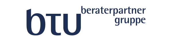 Logo: btu beraterpartner gruppe,